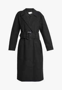 Nly by Nelly - LONG BELTED COAT - Manteau classique - grey - 4
