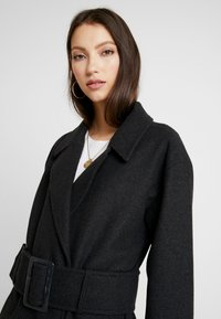 Nly by Nelly - LONG BELTED COAT - Manteau classique - grey - 3