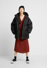 Nly by Nelly - BELTED PUFFER JACKET - Giacca invernale - black - 1