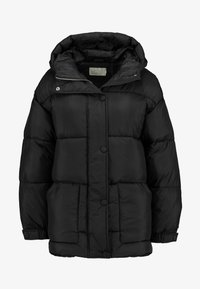 Nly by Nelly - BELTED PUFFER JACKET - Giacca invernale - black - 4