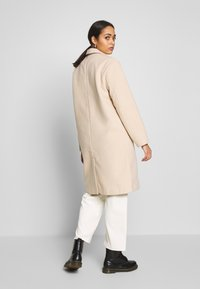 Nly by Nelly - EASY STRAIGHT COAT - Abrigo - beige - 2