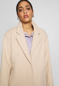 Nly by Nelly - EASY STRAIGHT COAT - Abrigo - beige