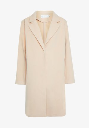 EASY STRAIGHT COAT - Abrigo - beige