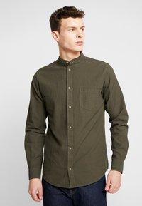 Nerve - NEBARTEL SHIRT - Camicia - dark olive - 0