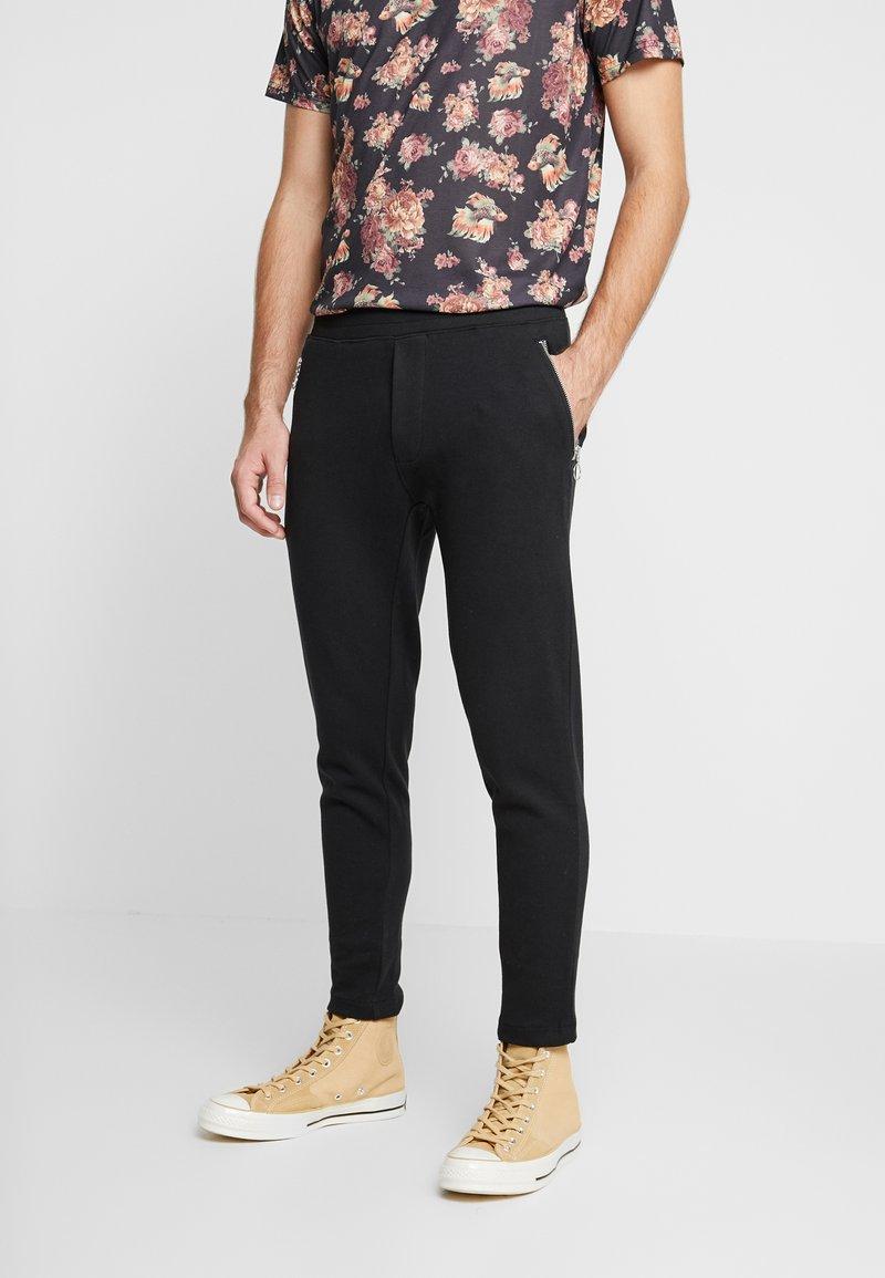 Nerve - NEMIK PANTS - Pantalon de survêtement - black