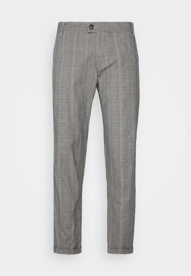 NEDURAN PANTS - Tygbyxor - grey check