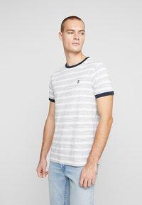 Nerve - NENAF TEE - T-shirt print - white - 0