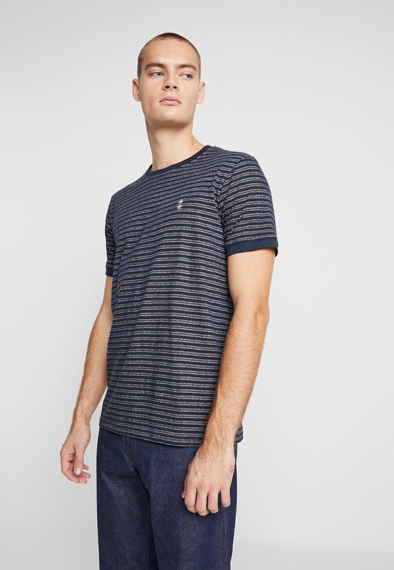 Nerve - NENAF TEE - T-shirt print - navy