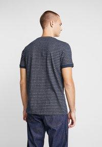 Nerve - NENAF TEE - T-shirt med print - navy - 2