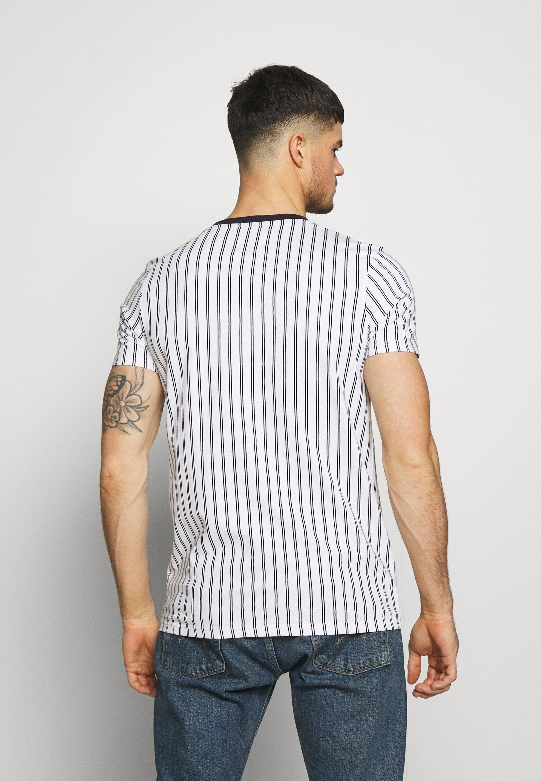Nerve NETEMPLE TEE - T-shirt z nadrukiem - pristine