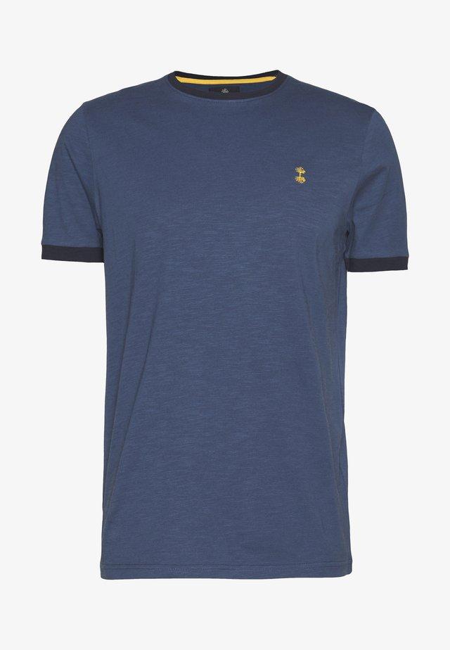 NECHAZ TEE - Printtipaita - ensign blue