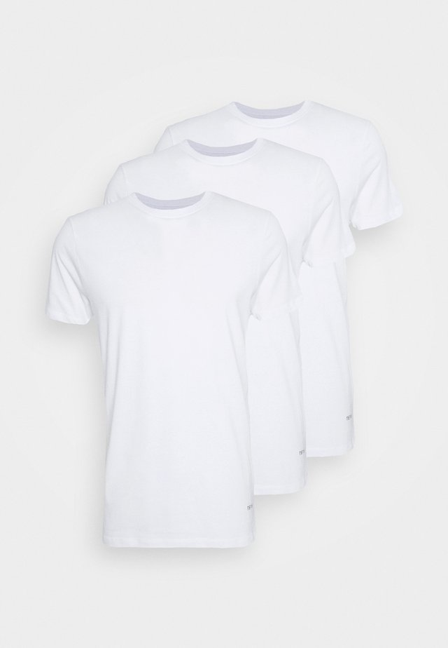 JESSE 3 PACK - T-shirts basic - white