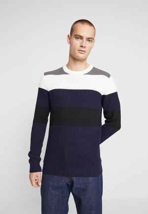 NEPOLLE - Stickad tröja - blue
