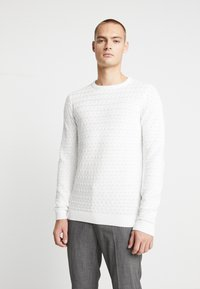Nerve - NEHERMAN - Stickad tröja - offwhite - 0