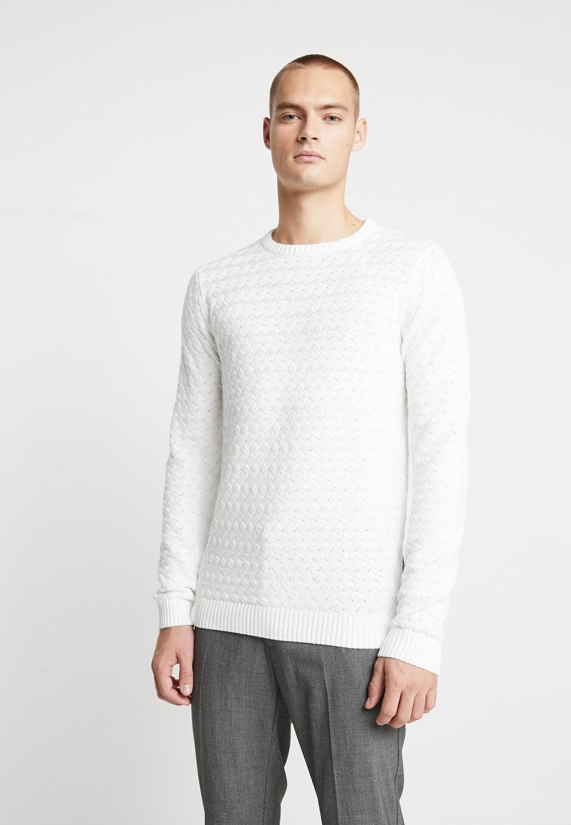Nerve - NEHERMAN - Stickad tröja - offwhite