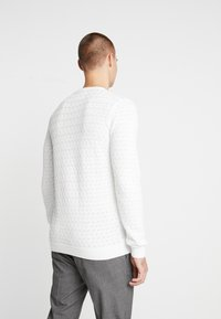Nerve - NEHERMAN - Stickad tröja - offwhite - 2