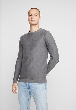NECOLIN - Stickad tröja - anthra melange