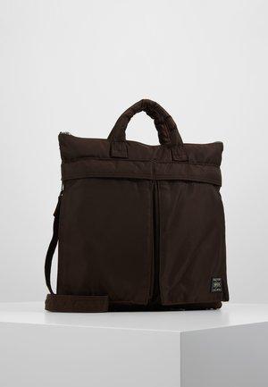 PORTER YOSHIDA X NEXUS VII HELMET BAG SMALL - Käsilaukku - brown