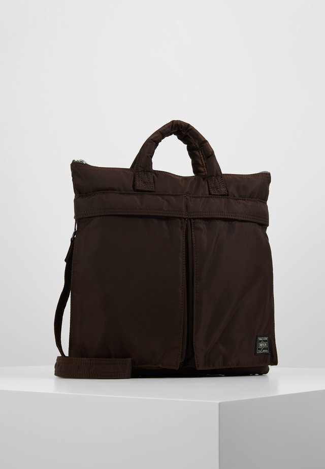 PORTER YOSHIDA X NEXUS VII HELMET BAG SMALL - Handbag - brown