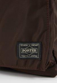 Nexus VII. - PORTER YOSHIDA X NEXUS VII HELMET BAG SMALL - Handbag - brown - 7