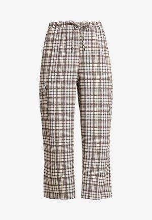 CHECK PRINT TROUSERS - Pantalon classique - multi