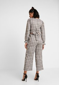 NEW girl ORDER - CHECK PRINT TROUSERS - Pantalon classique - multi - 2