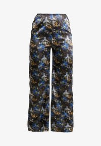 NEW girl ORDER - ORIENTAL PRINT TROUSERS - Tygbyxor - black - 4