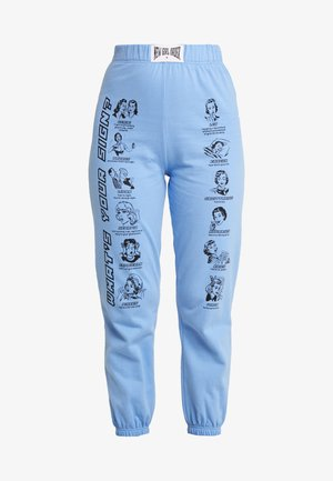 WHAT'S YOUR SIGN JOGGERS - Trousers - blue