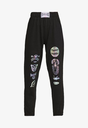 HOLO LOGO - Pantalon de survêtement - black