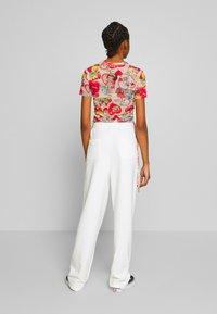 NEW girl ORDER - SEAM JOGGER - Teplákové kalhoty - cream - 2