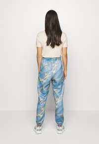 NEW girl ORDER - MARBLE  - Tracksuit bottoms - blue - 2