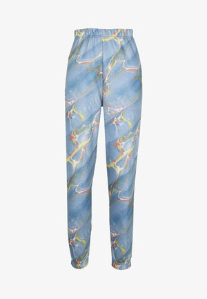 MARBLE  - Tracksuit bottoms - blue