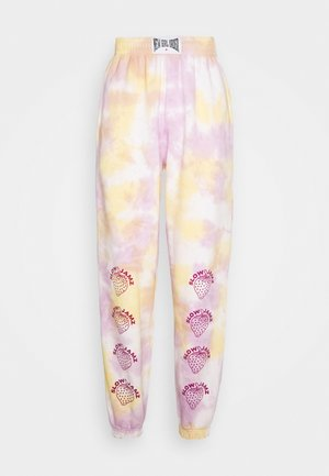 STRAWBERRY JOGGERS  - Tracksuit bottoms - multi