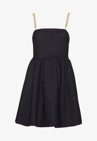 NEW girl ORDER - GLITTER CHAIN STRAP DRESS - Robe de soirée - black - 5