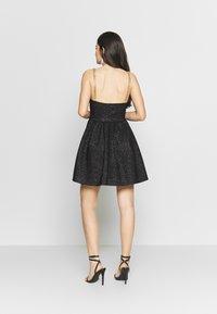 NEW girl ORDER - GLITTER CHAIN STRAP DRESS - Robe de soirée - black - 2