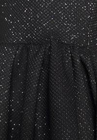 NEW girl ORDER - GLITTER CHAIN STRAP DRESS - Robe de soirée - black - 6