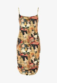 NEW girl ORDER - ORIENTAL PRINT DRESS STRAPS - Pouzdrové šaty - multi - 5
