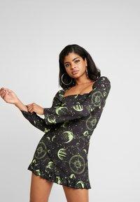 NEW girl ORDER - MOON MILK MAID DRESS - Robe d'été - black - 0