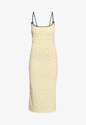 DITSY DRESS - Fodralklänning - beige