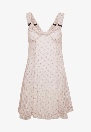 DITSY DRESS - Day dress - beige
