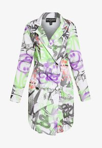 NEW girl ORDER - GRAFITTI BLAZER DRESS - Denní šaty - multi - 4