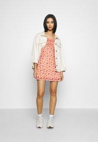 NEW girl ORDER - CHERRY LOLITA DRESS - Denní šaty - pink - 1