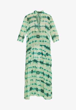 TIERED DRESS - Maxi dress - green