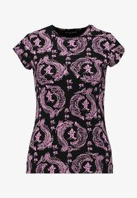 NEW girl ORDER - KANJU TEE - T-shirt imprimé - black - 4