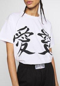 NEW girl ORDER - LUCKY DRAGON - T-shirt med print - white - 4