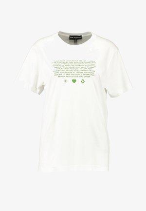 MANIFESTO - T-shirt med print - white