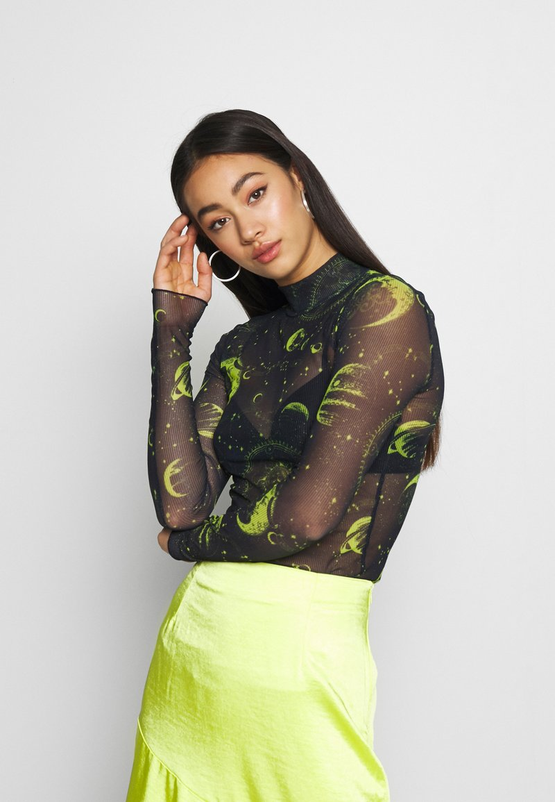 NEW girl ORDER - MOON  - Long sleeved top - black
