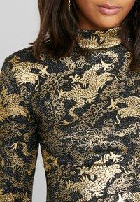 NEW girl ORDER - DRAGON LONG SLEEVE - T-shirt à manches longues - black - 4