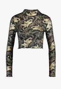 NEW girl ORDER - DRAGON LONG SLEEVE - T-shirt à manches longues - black - 3