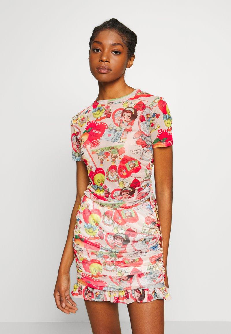NEW girl ORDER - DOLL - Print T-shirt - multi coloured